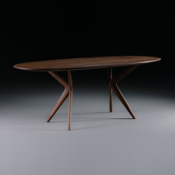 Lakri oval table | Dining tables | Artisan