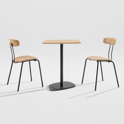Kontra | Tables de bistrot | Zeitraum