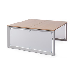 Bench FrameOne | Tables collectivités | Steelcase