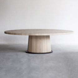 Kops oval table | Mesas comedor | Van Rossum