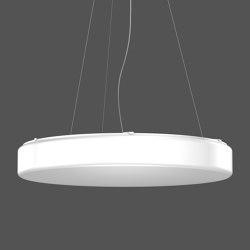 Flat Polymero® Kreis and Kreis XXL Pendant luminaires | Suspended lights | RZB - Leuchten