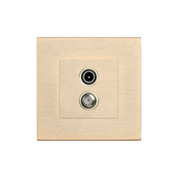 SoHo | TV / Sat Socket | Multimedia ports | FEDE