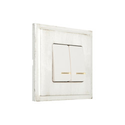 Provence   Double Push-Button Switch   Two-way switches   FEDE