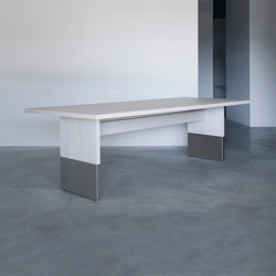 Nota Bene rectangular table | Mesas comedor | Van Rossum