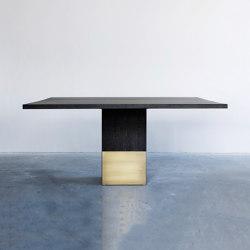 Nota Bene square table | Dining tables | Van Rossum