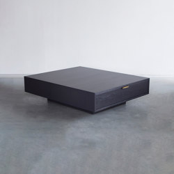 Nota Bene coffee table | Mesas de centro | Van Rossum
