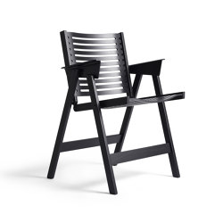 Rex Chair Black Oak | Chairs | Rex Kralj