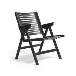 Rex Lounge Chair Black Oak | Poltrone | Rex Kralj