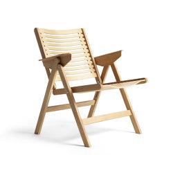 Rex Lounge Chair Natural Oak | Fauteuils | Rex Kralj