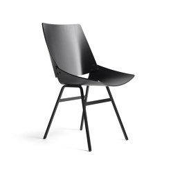 Shell Chair Black Oak | Chairs | Rex Kralj