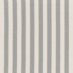 Nizza-Stripe - 41 silver | Tessuti decorative | nya nordiska