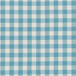 Nizza-Check - 92 aqua | Drapery fabrics | nya nordiska