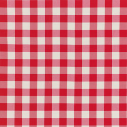 Nizza-Check - 97 red | Drapery fabrics | nya nordiska