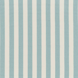 Nizza-Stripe - 42 aqua | Tessuti decorative | nya nordiska