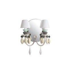 Belle de Nuit 2 Lights Wall Sconce | Black (CE/UK) | Wall lights | Lladró