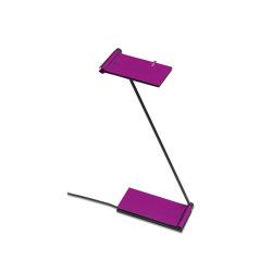 ZETT USB - Aubergine | Lampade tavolo | Baltensweiler