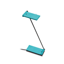 ZETT USB - Turquoise | Lampade tavolo | Baltensweiler