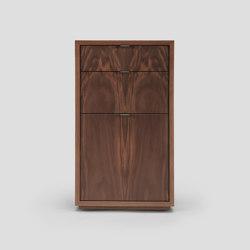 wishbone 3-drawer cabinet | Caissons bureau | Skram