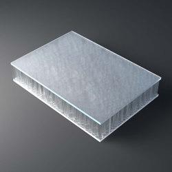 chaos AIR-board® UV satin   clear   Plaques en matières plastiques   Design Composite