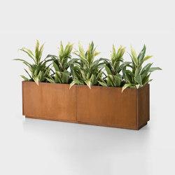 A-Modulo | Vasi piante | De Castelli