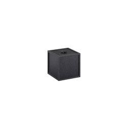 Frame 10 black ash | Storage boxes | by Lassen
