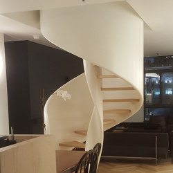 Tornado Spiral | Staircase systems | Siller Treppen