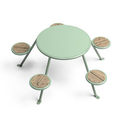 Buzz picnic table | Tables and benches | Vestre