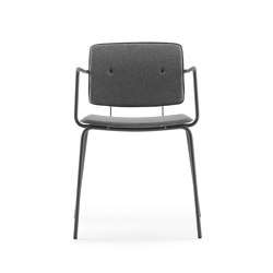 Don Chair upholstered with armrests | Chairs | ONDARRETA