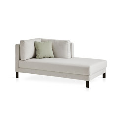 Slim Right chaise longue module | Sofas | Expormim
