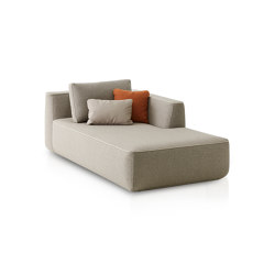 Plump Right chaise longue module | Sofas | Expormim
