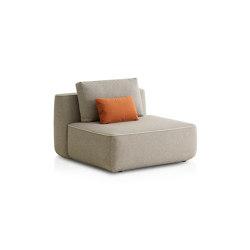 Plump Zentrales Modul | Modulare Sitzelemente | Expormim