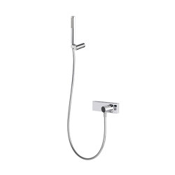 Fluid F3855 | Exposed shower mixer with shower set | Shower controls | Fima Carlo Frattini
