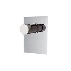 Fluid F3859X1 | Single lever bath and shower mixer for concealed installation | Shower controls | Fima Carlo Frattini