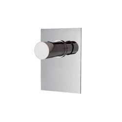 Fluid F3859X1 | Mezclador empotrado para ducha | Grifería para duchas | Fima Carlo Frattini