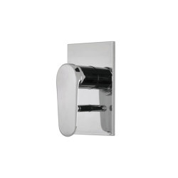 Next F3949X2 | Single lever bath and shower mixer for concealed installation with 2 outlets diverter | Shower controls | Fima Carlo Frattini