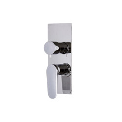 Next F3949X6 | Built-in mixer with 2/3 outlets diverter | Shower controls | Fima Carlo Frattini