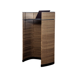 Grape LECTERN 1 in corrugated cardboard | Atriles | Grape