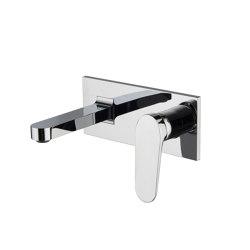 Next F3961X5 | Monobloc para lavabo empotrado | Grifería para lavabos | Fima Carlo Frattini