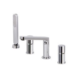 Nomos Go F4174 | Deck mounted bath mixer | Bath taps | Fima Carlo Frattini