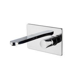 Nomos Go F4201X5 | Monobloc para lavabo empotrado | Grifería para lavabos | Fima Carlo Frattini