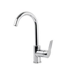 Serie 4 F3781W | Mezclador para lavabo con caño giratorio | Grifería para lavabos | Fima Carlo Frattini