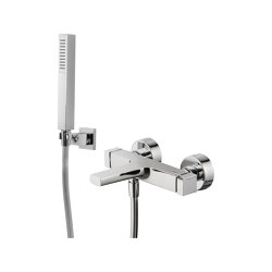Zeta F3964 | Exposed bath mixer with shower set | Bath taps | Fima Carlo Frattini