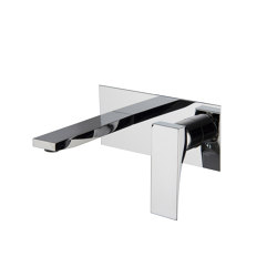 Zeta F3971X5 | Wall mounted wash basin mixer | Wash basin taps | Fima Carlo Frattini