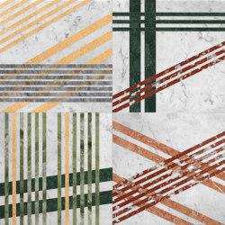 Opus | Mikado zucchero | Natural stone panels | Lithos Design