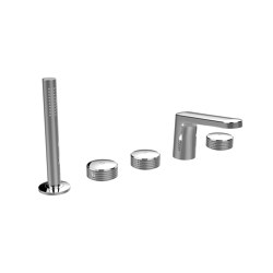 Texture Collection F5614 | Deck mounted bath tap | Bath taps | Fima Carlo Frattini