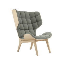 Mammoth Chair, Natural / Canvas Washed Green 156 | Sessel | NORR11