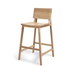 N3 | Oak kitchen counter stool | Chaises de comptoir | Ethnicraft