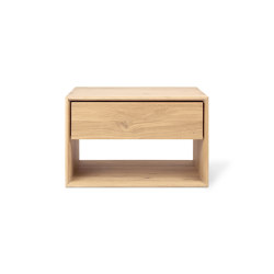 Nordic | Oak II bedside table - 1 drawer | Night stands | Ethnicraft