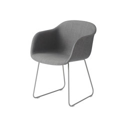 Fiber Armchair | Sled Base | Textile | Chairs | Muuto