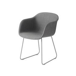 Fiber Armchair | Sled Base | Textile | Stühle | Muuto